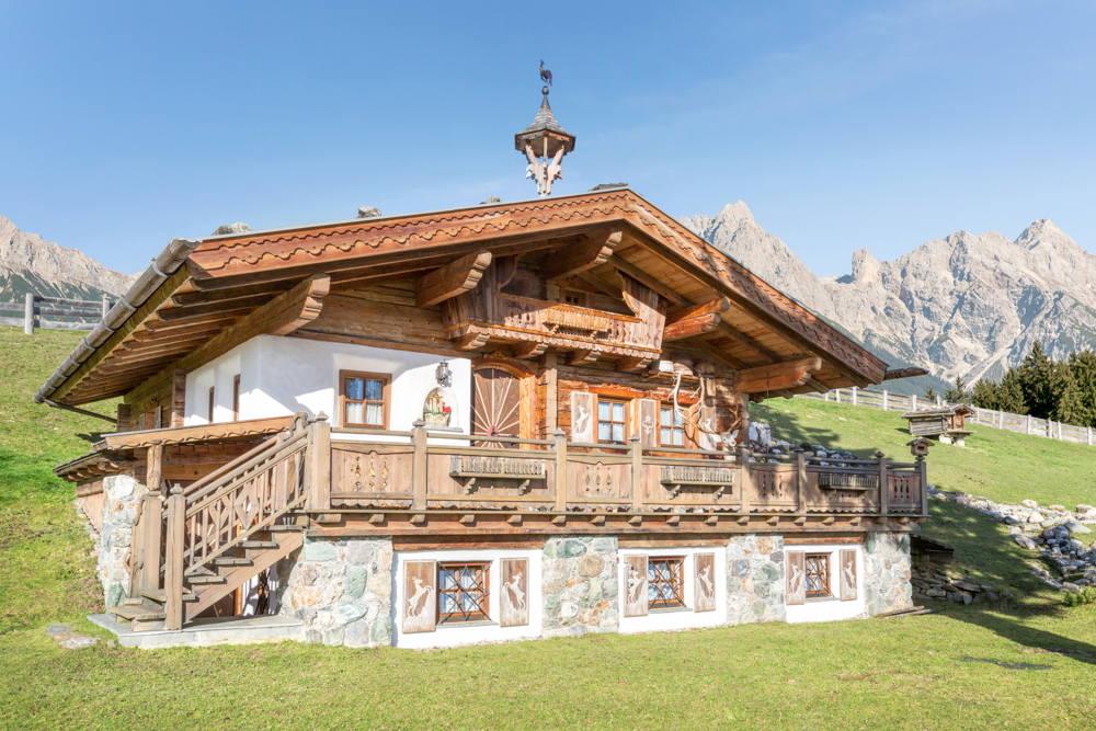 Luxus-Häuser in Kitzbühel