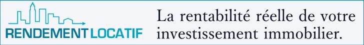 calcul du rendement locatif d'un investissement immobilier