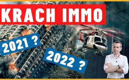 Va-t-on vers un krach immobilier en 2021 et 2022 ?