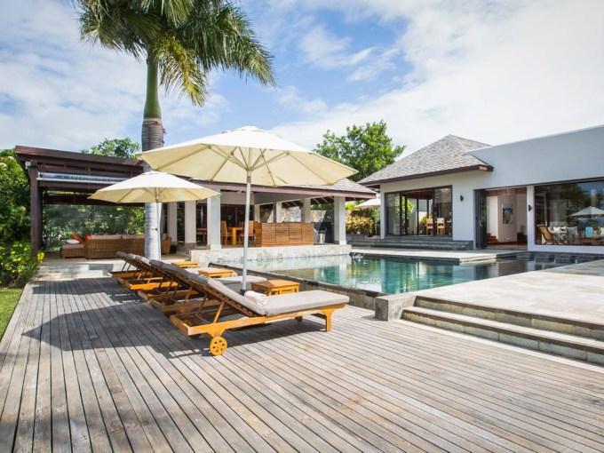 villa ile Maurice, Villas élégantes et raffinées avec piscines et jardins privés,