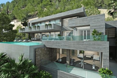 Villa de luxe de 4 chambres en vente Cumbre del Sol, Communauté Valencienne , Espagne-2