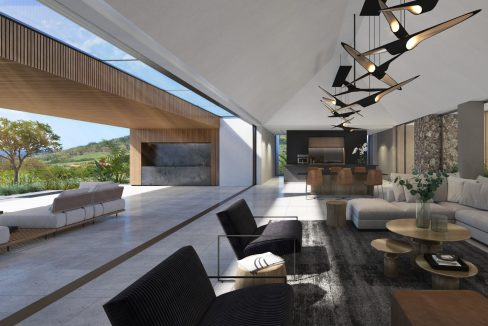 Lounge with standard roof - Villa Bliss