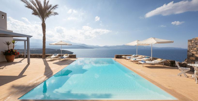 Villa de 3 chambres 133m2 vue imprenable Sur la Mer Grèce