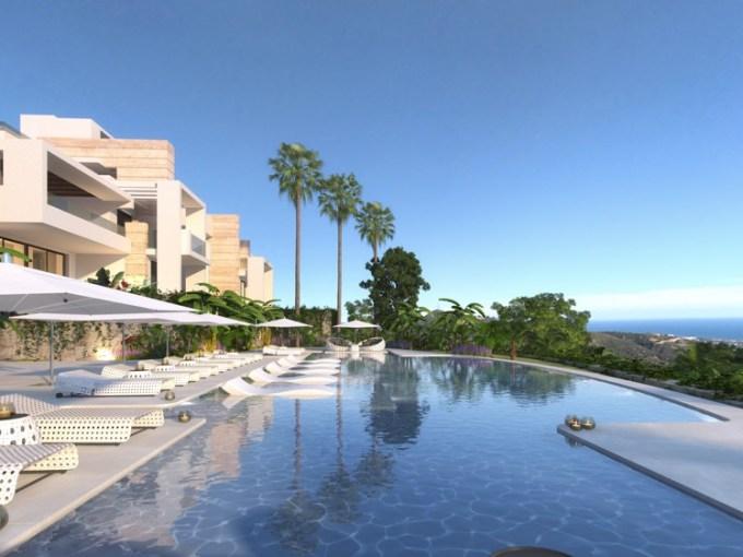 Nouveau projet moderne dans les montagnes d'Ojen- à partir de €445.000