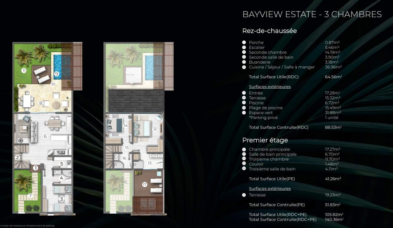 Bayview Estate - Cap Marina | Townhouses Île Maurice