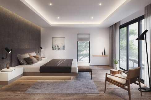 nsemble résidentiel de charme et sécurisé se compose de 14 villas individuelles de deux étages et d'une surface de 173 m2