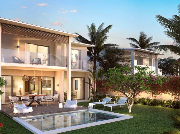 |villas individuelles baie de Tamarin Île Maurice|||||