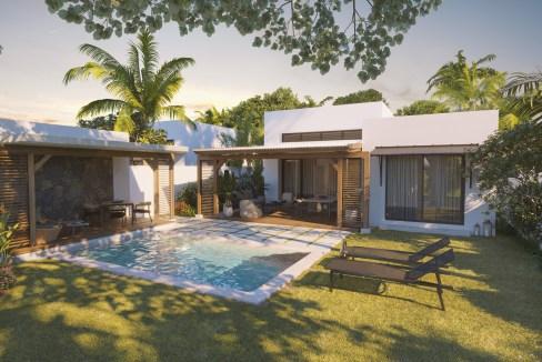 Amara Villa - Back-View