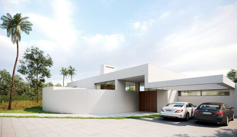 Villa moderna Villa avec piscine0