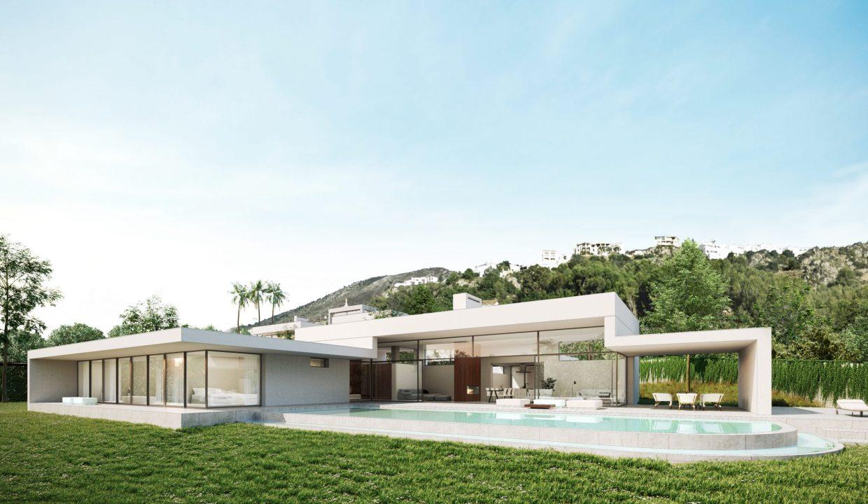 Villa moderna Villa avec piscine3