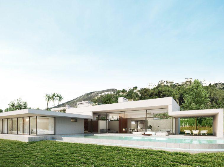 Villa avec piscine|||