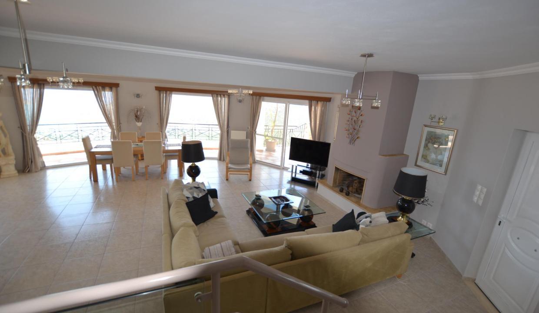 Vue panoramique sur la Méditerranée villa 4 chambres 220m2 licence EOT14