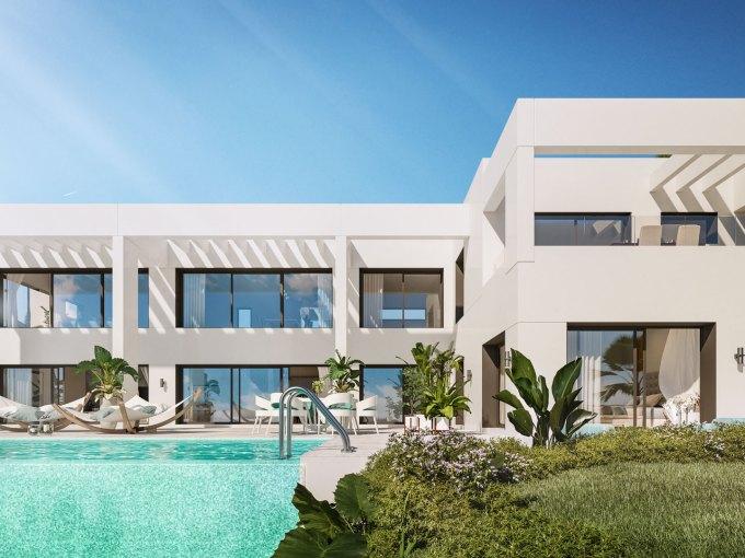 un développement de luxe, situé dans la région de Higueron.