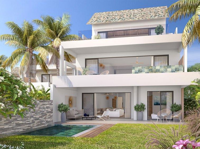 Appartement Penthouse en Duplex|Penthouse duplex en vente|Appartement à vendre penthouse vue mer||Balaclava – Villa en bord de mer de 3 et 4 chambres à vendre|||Appartement Penthouse en Duplex