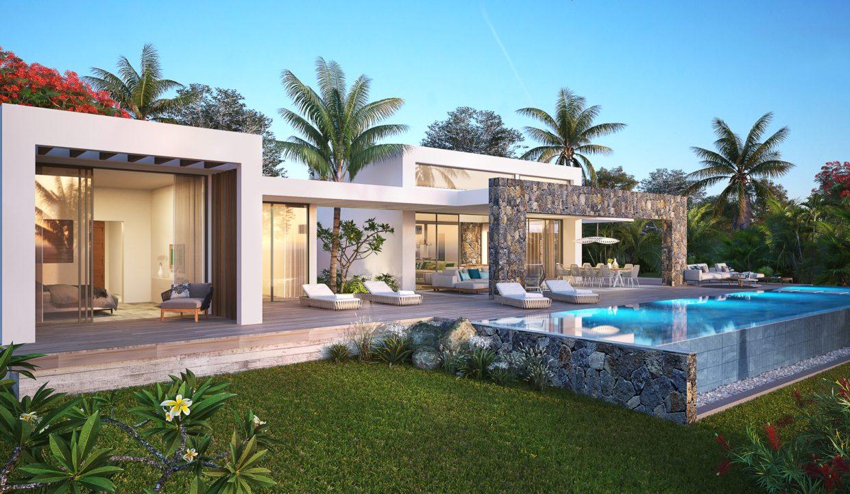 Berengere-Croidieu-villa de luxe, sur un terrain en pleine propriété. Anahita Mauritius