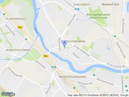 Google Maps Karte Lagerhalle Polen zu verkaufen - Lagerhalle in Polen