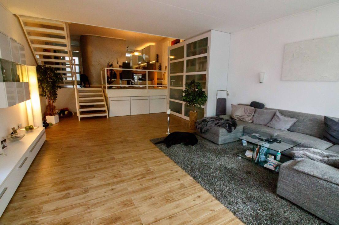 Wohnzimmer Essbereich - Maisonettewohnung Berlin zu verkaufen
