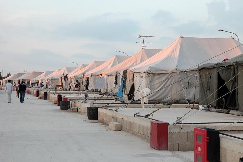 Tentes Militaires Accueil Dappoint Pour Les Rfugis