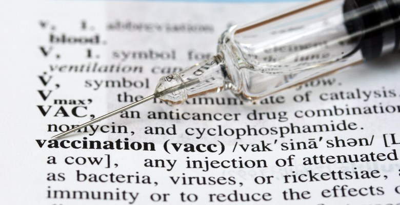 Definition of the word vaccination