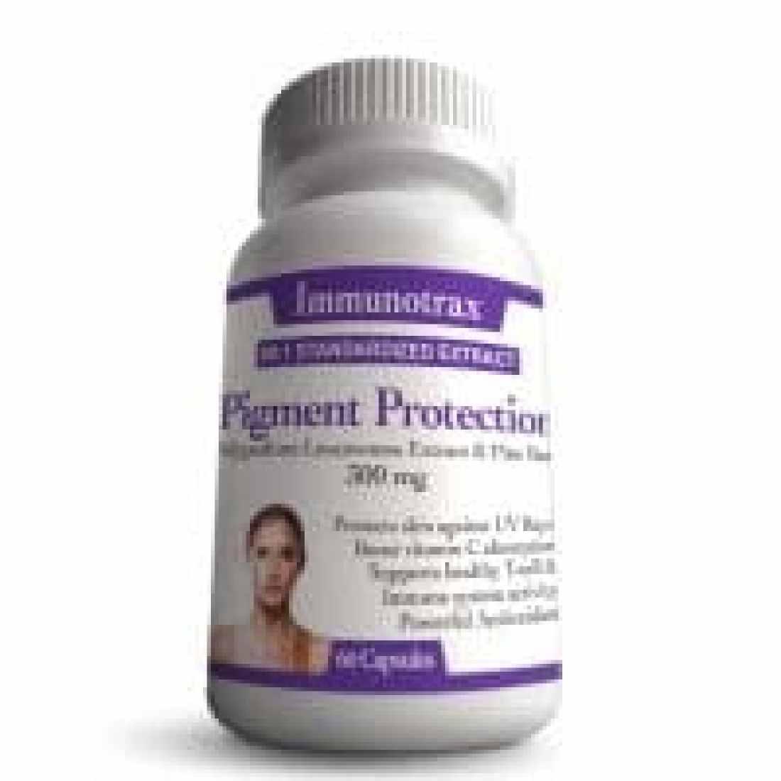 Vitiligo Pigment Protection - Natural Supplement