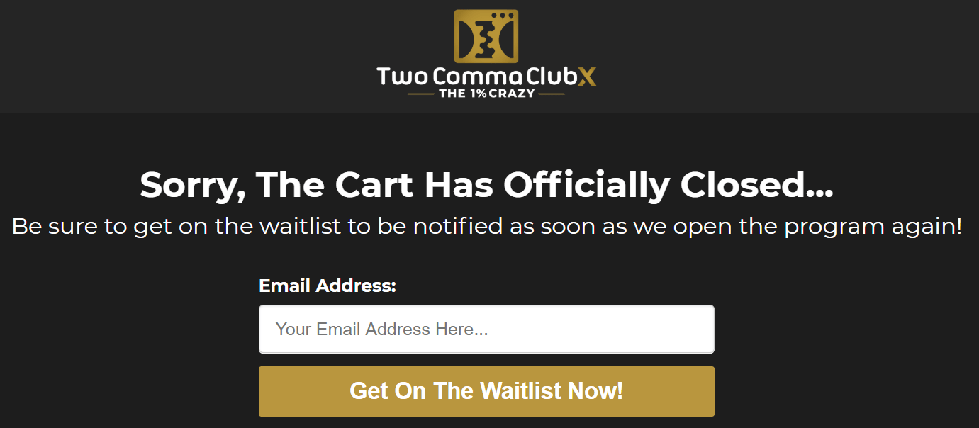clickfunnels two comma club x pricing