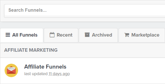 archive funnel