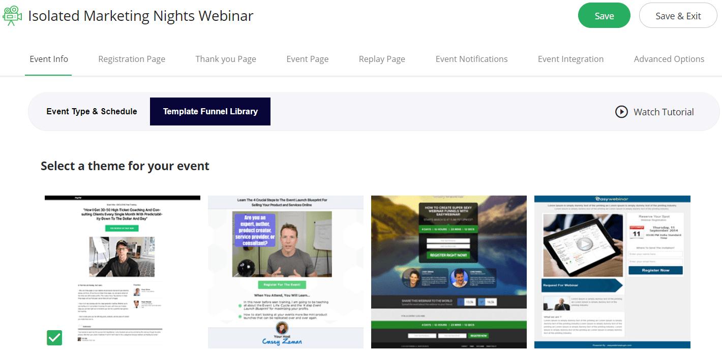 easywebinar templates