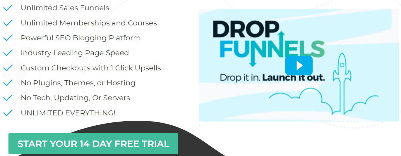 dropfunnels pricing