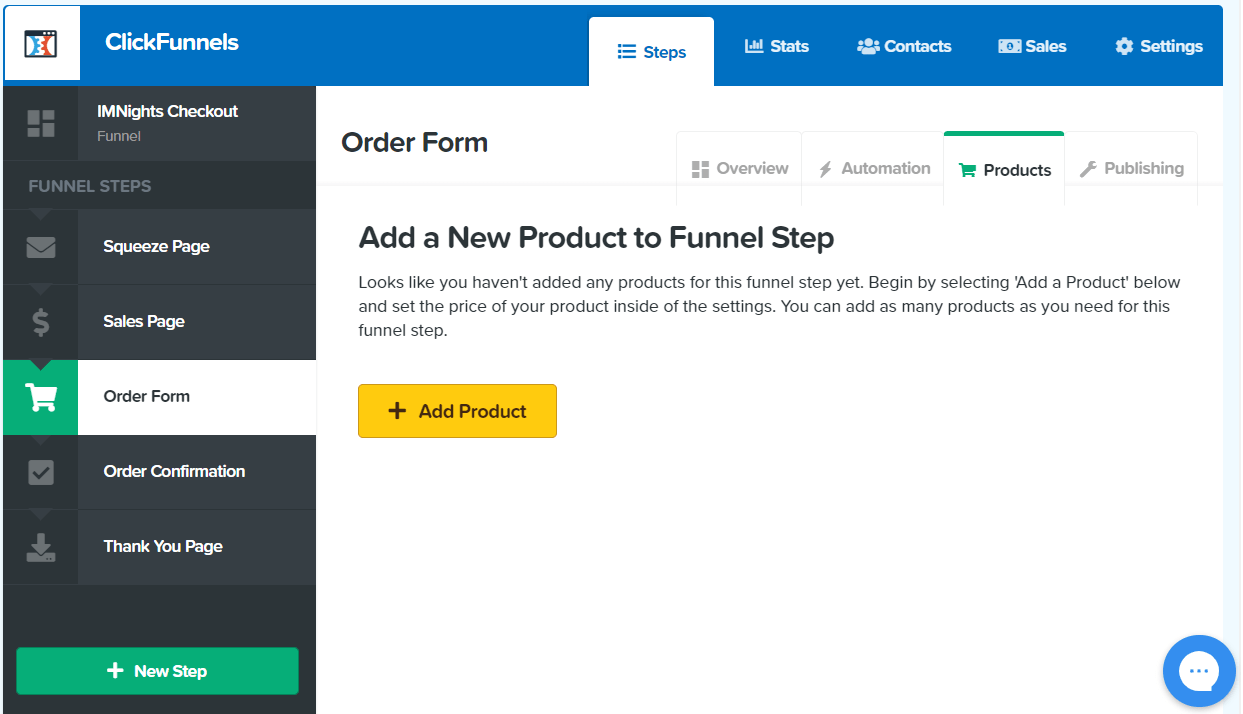 clickfunnels shopping cart integration