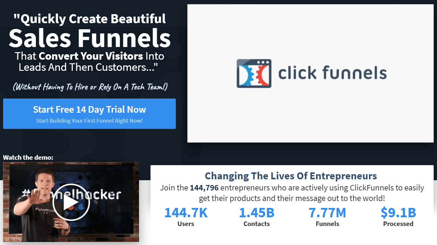 building sales funnels