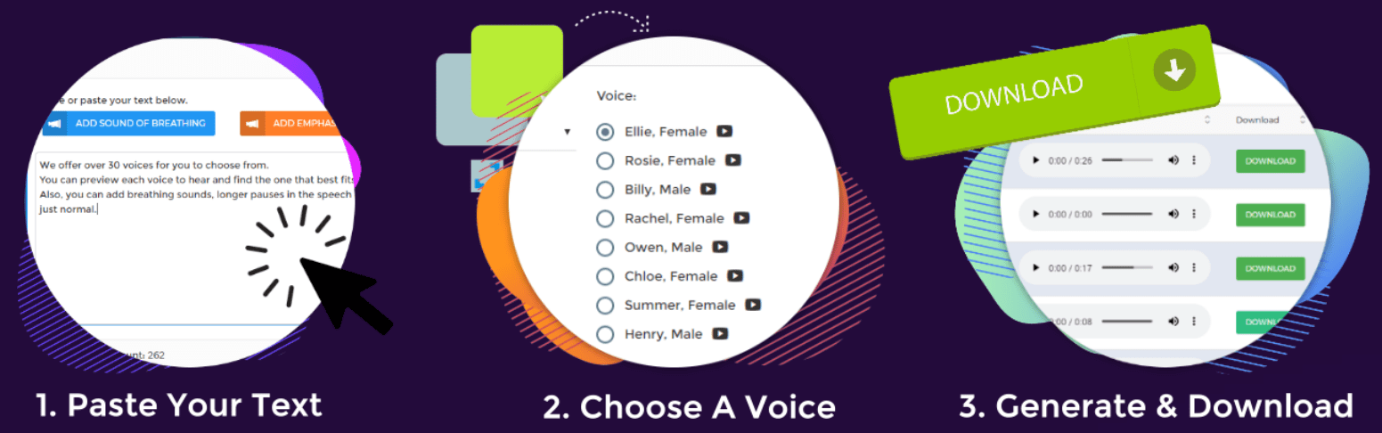 human voice software