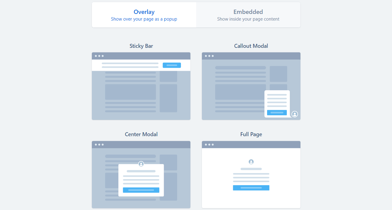 popup for your websites