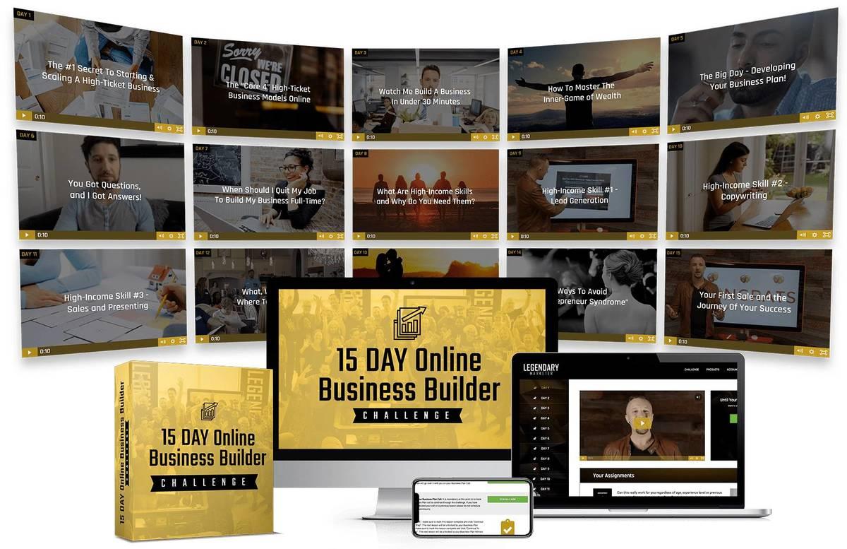 online business builder challenge