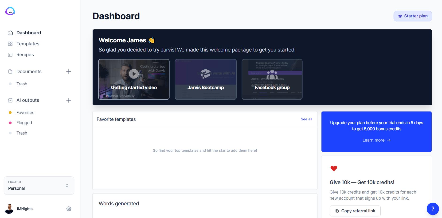 jarvis onboarding