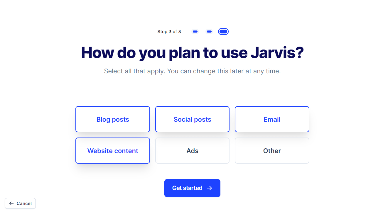 jarvis plans