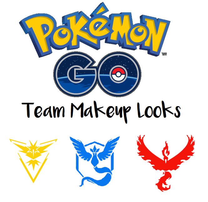 pokemon go makeup look