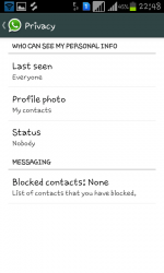 Hide WhatsApp last seen feature in Android