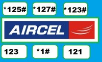 Aircel all USSD codes to check balance, offer, plan, alert
