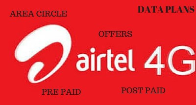 AIRTEL 4G –USSD CODES, CIRCLE AREA, DATA PLANS & OFFERS