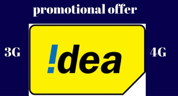 Idea big 4G 3G internet packs – promotional offer