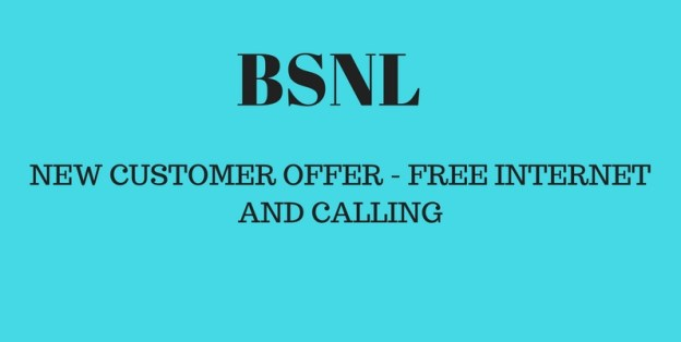 Bsnl New Customer offer -Free 30 Mins calling and 300 MB data