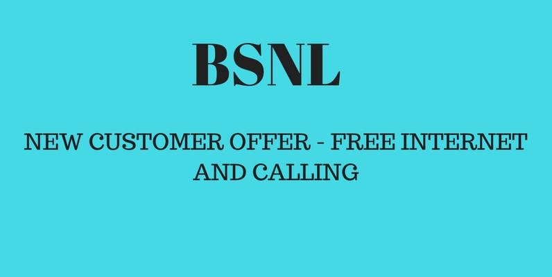 Bsnl New Customer offer