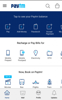 Money Transfer Feature - Paytm