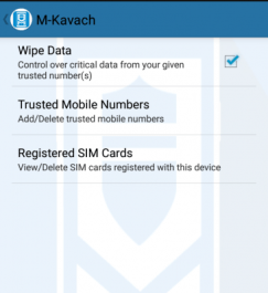 MKavach- Security Solution of your Android