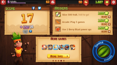 Fruit Ninja - fruit slicing Game
