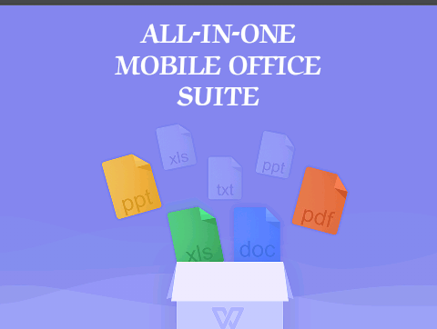 WPS Office -Excel- powerpoint – PDF – XLS – Txt – All in one file viewer- Office Suite for Android Phone