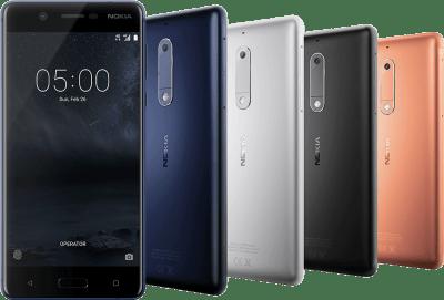 Nokia 3 - Nokia 5 - Nokia 6 launched