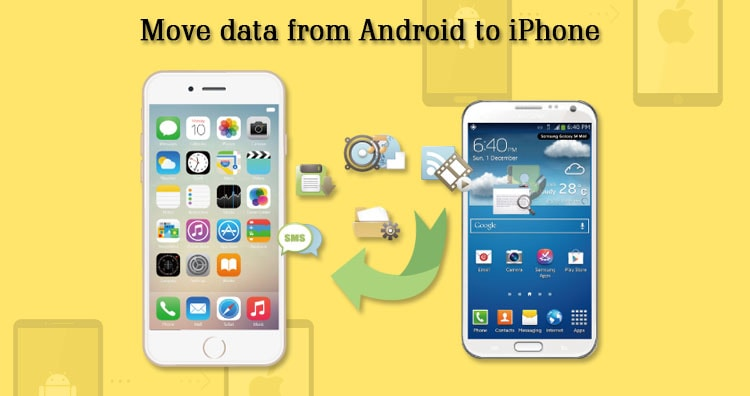 move your data from Android to iPhone or iPad