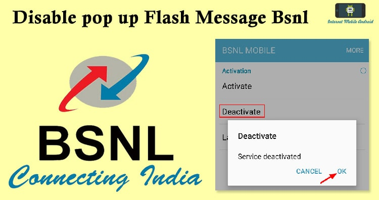 How to stop Bsnl Buzz Push Flash Messages - iPhone, Android Phone