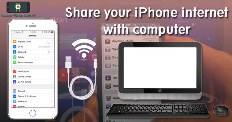 iPhone Usb Tethering – Share iPhone Internet with windows